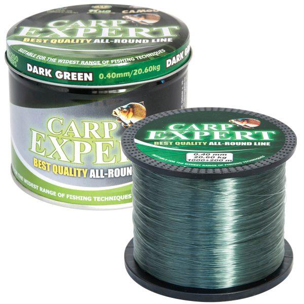 Fir Monofilament Carp Expert Dark Green 1200M, 0,27mm