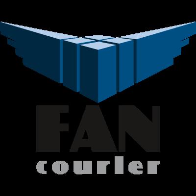 logo fan courier ideea fishing